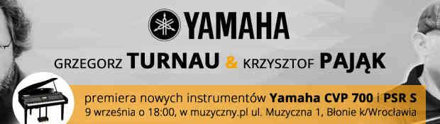Grzegorz Turnau i Krzysztof Pająk - premiera nowych instrumentów Yamaha CVP 700 i PSR S