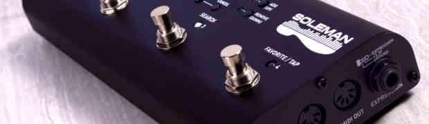 Kontroler MIDI Source Audio Soleman